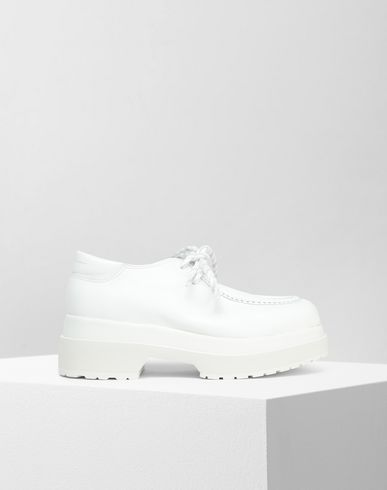MM6 MAISON MARGIELA Laced shoes [*** pickupInStoreShipping_info ***] Leather lace-up shoes f