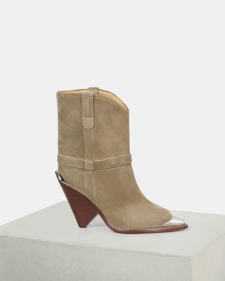ISABEL MARANT BOOTS Woman LAMSY boots d