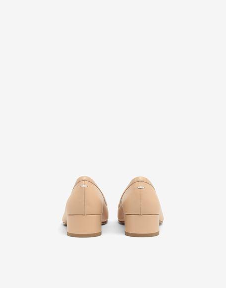 MAISON MARGIELA Кожаные балетки Tabi на каблуках Балетки Для Женщин d