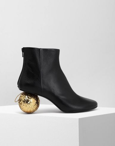 MM6 MAISON MARGIELA Bottines [*** pickupInStoreShipping_info ***] Christmas ball-heeled ankle boots f