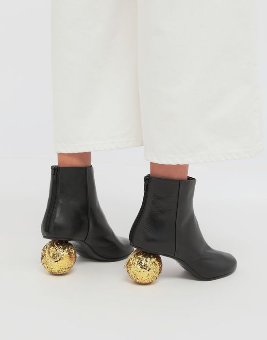 MM6 MAISON MARGIELA Christmas ball-heeled ankle boots Ankle boots [*** pickupInStoreShipping_info ***] b