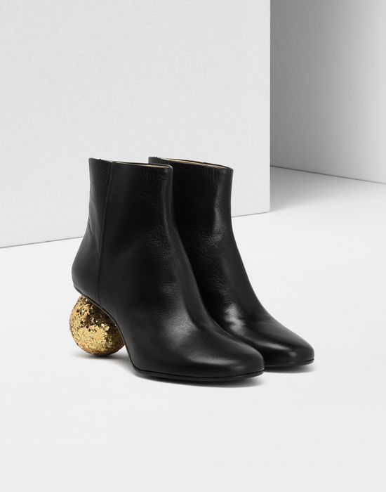 MM6 MAISON MARGIELA Christmas ball-heeled ankle boots Ankle boots [*** pickupInStoreShipping_info ***] r