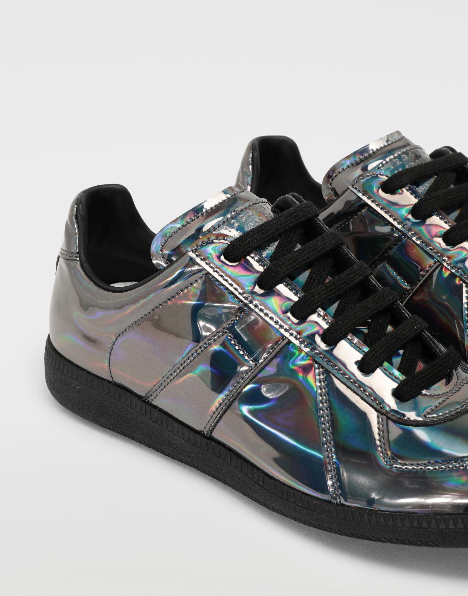 MAISON MARGIELA Replica low top hologram sneakers Sneakers Man a
