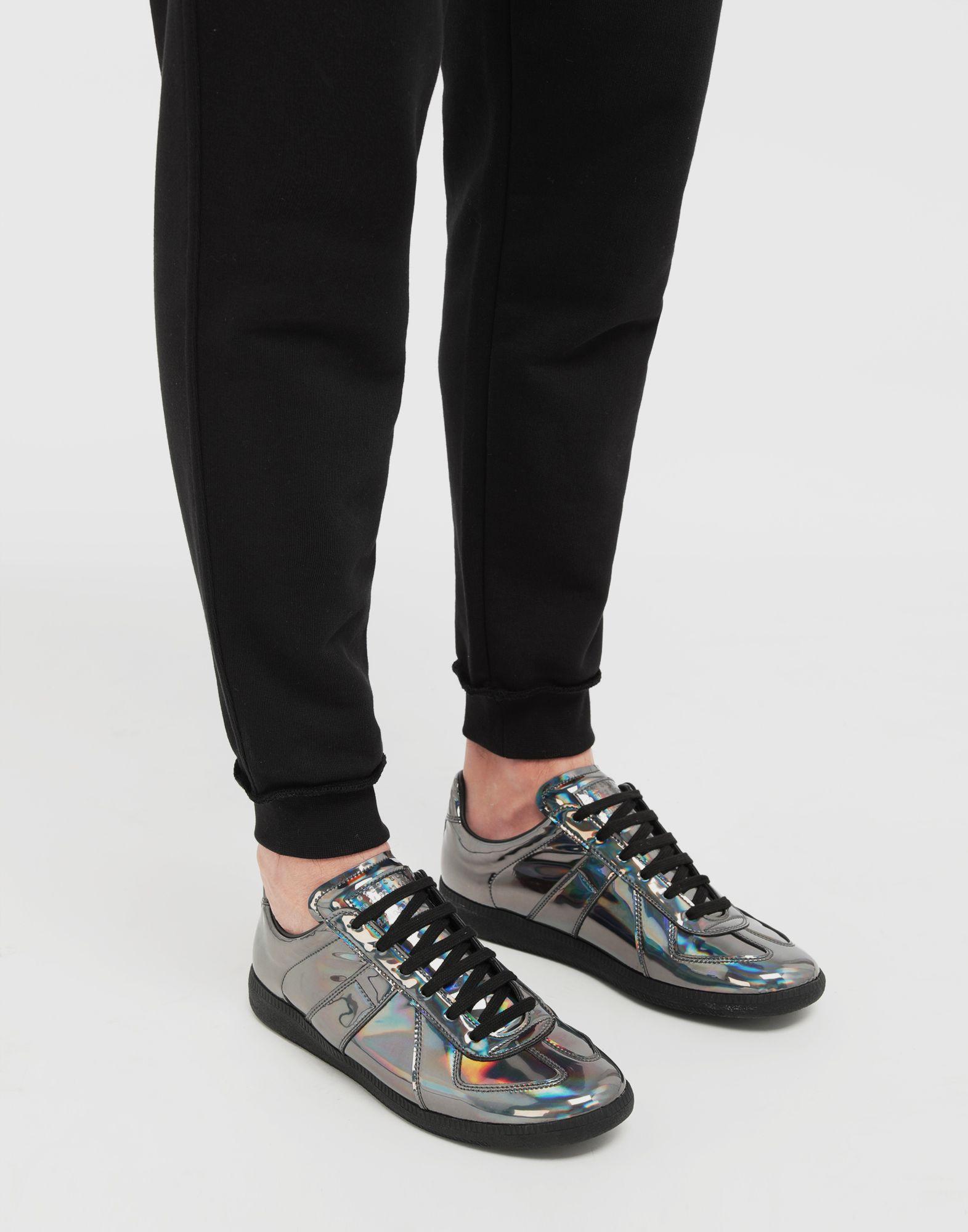 MAISON MARGIELA Replica low top hologram sneakers Sneakers Man b