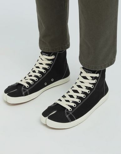 SHOES Tabi high top sneakers Black