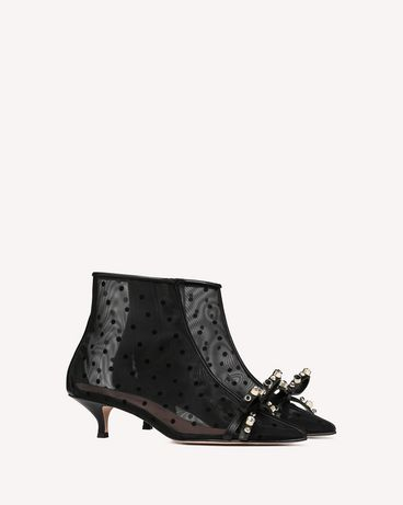 REDValentino BOTTINES GEOMETRIC BOW