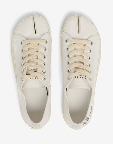 SHOES Tabi lace-up shoes White