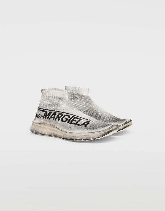 MAISON MARGIELA Dirty Treatment low top sock runners Sneakers [*** pickupInStoreShippingNotGuaranteed_info ***] r