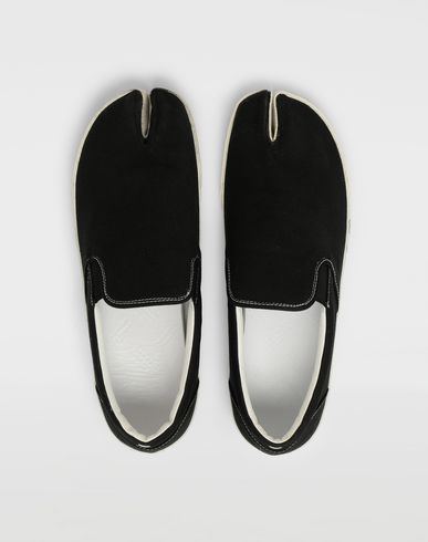 SHOES Tabi slip-on shoes Black