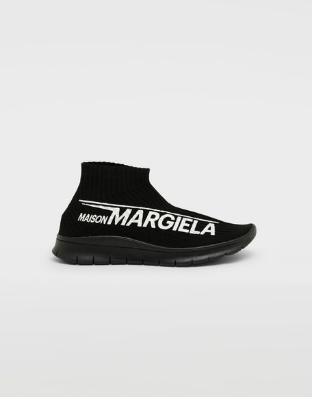 MAISON MARGIELA Dirty Treatment low top sock runners Sneakers Man f