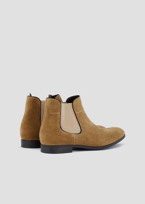 Suede Beatles boots