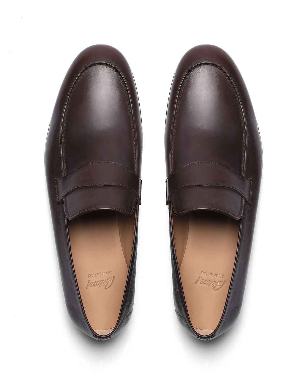 BRIONI Havana Penny Loafer Formal shoes [*** pickupInStoreShippingNotGuaranteed_info ***] r