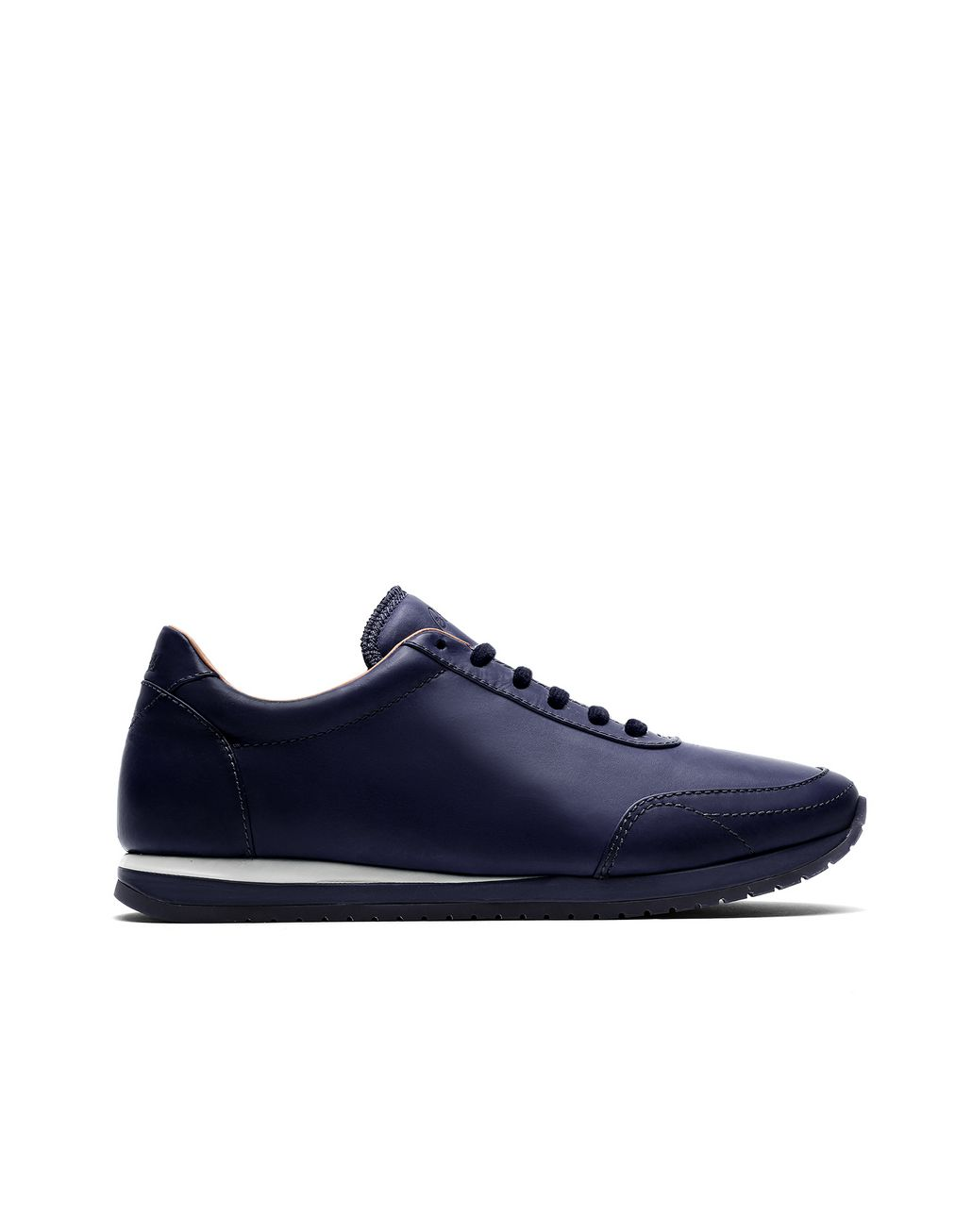 BRIONI Navy Blue and White Runner Sneakers Sneakers Man f