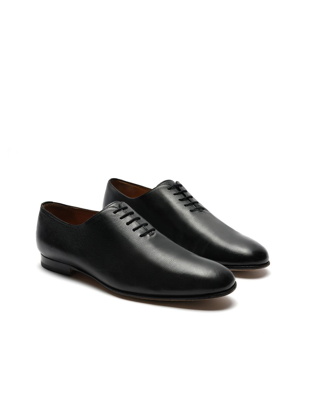 BRIONI Black Oxford Foot Glove Formal shoes [*** pickupInStoreShippingNotGuaranteed_info ***] d