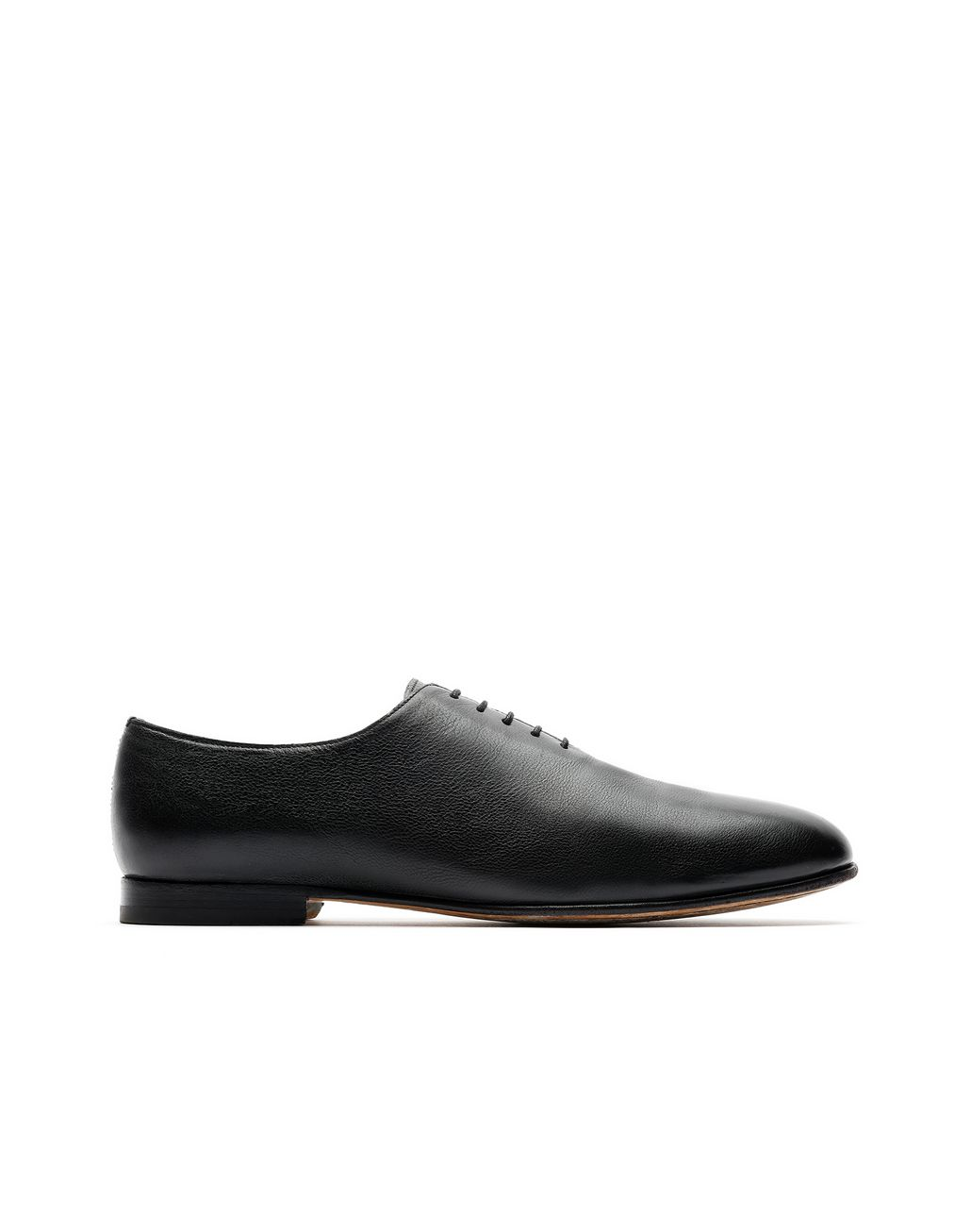 BRIONI Black Oxford Foot Glove Formal shoes Man f