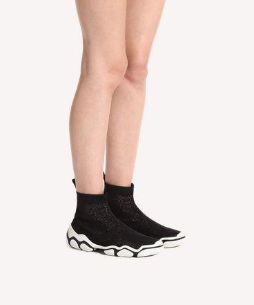 REDValentino RQ2S0C14LJW 0NO Sneaker Woman b