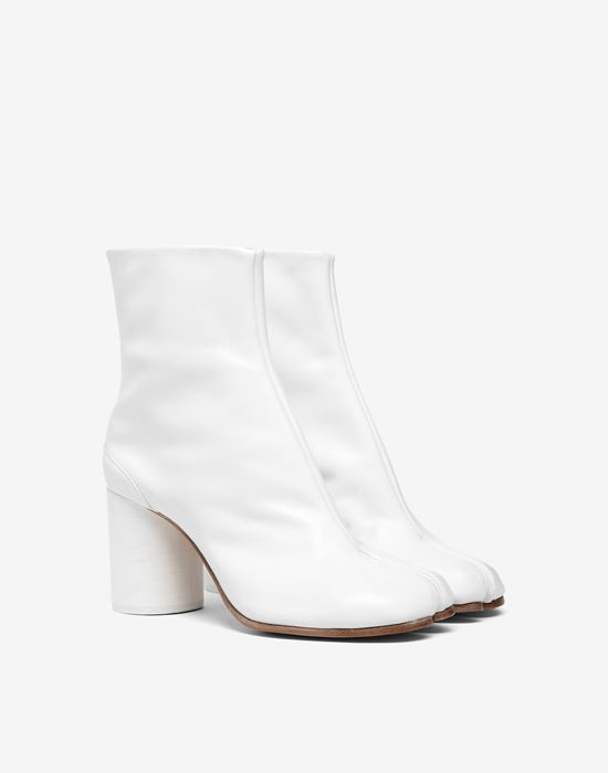 MAISON MARGIELA Tabi calfskin boots Ankle boots [*** pickupInStoreShipping_info ***] r