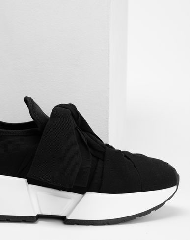 SHOES Ribon tie sneakers