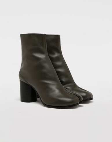 SHOES Calfskin Tabi boots Military green