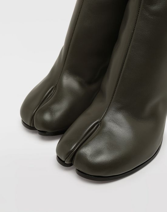 MAISON MARGIELA Bottes « Tabi » en cuir de veau Bottines [*** pickupInStoreShipping_info ***] a