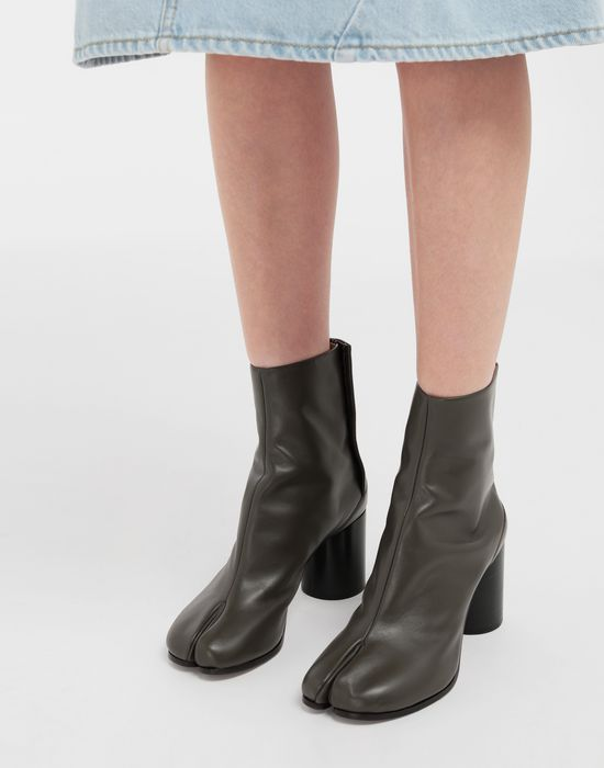 MAISON MARGIELA Bottes « Tabi » en cuir de veau Bottines [*** pickupInStoreShipping_info ***] b