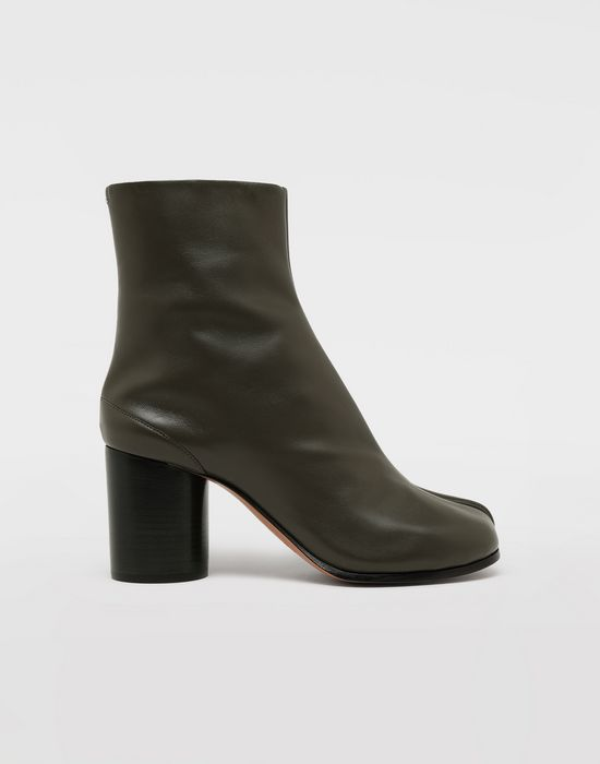 MAISON MARGIELA Bottes « Tabi » en cuir de veau Bottines [*** pickupInStoreShipping_info ***] f