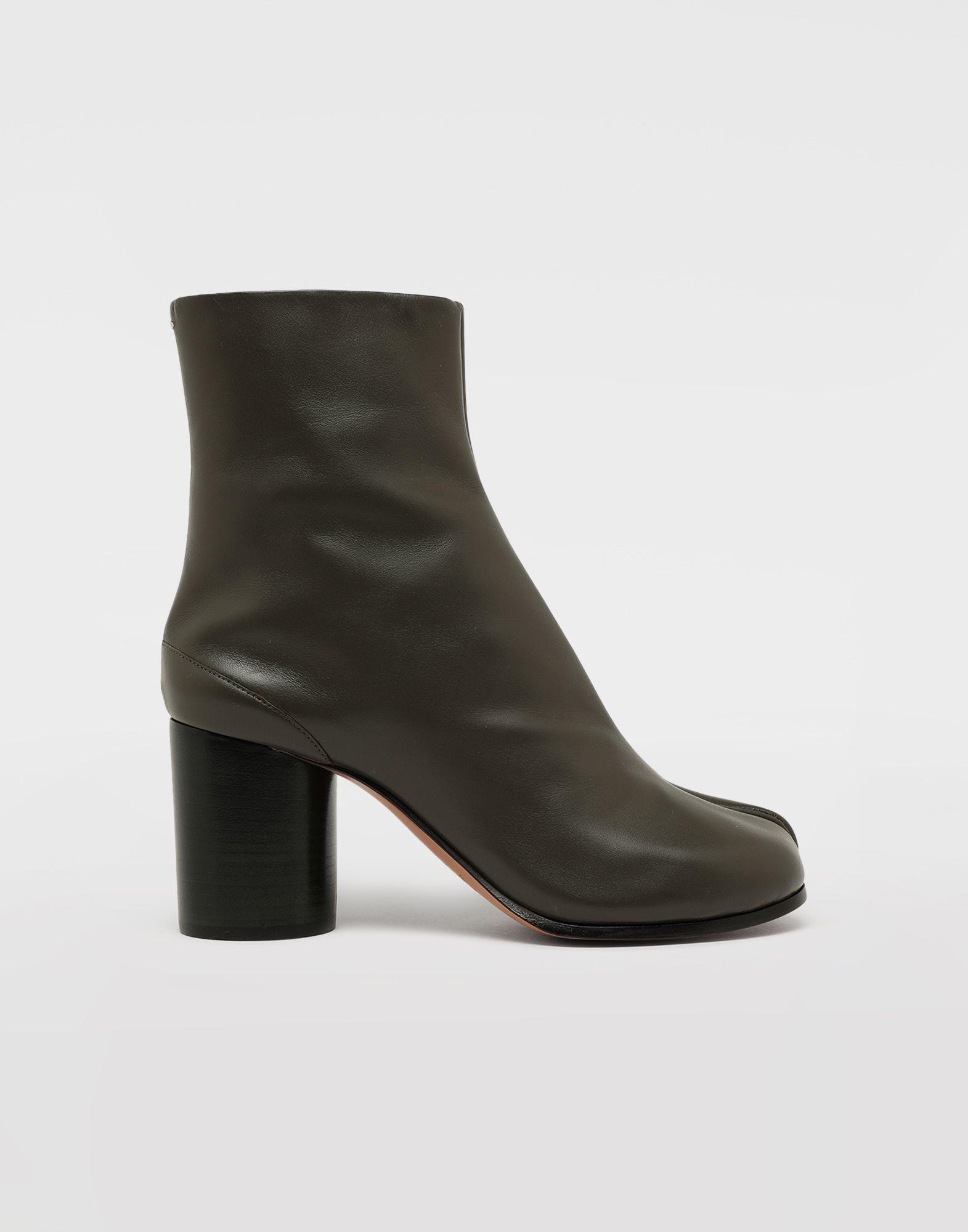MAISON MARGIELA Bottes «Tabi» en cuir de veau Bottines Femme f