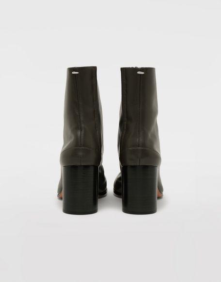 MAISON MARGIELA Bottes «Tabi» en cuir de veau Bottines Femme d
