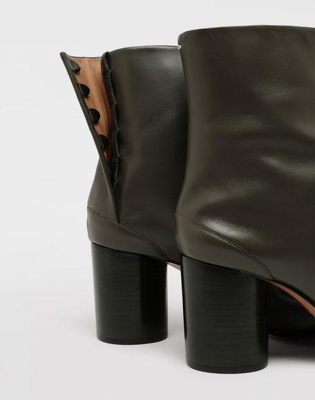 MAISON MARGIELA Bottes «Tabi» en cuir de veau Bottines Femme e