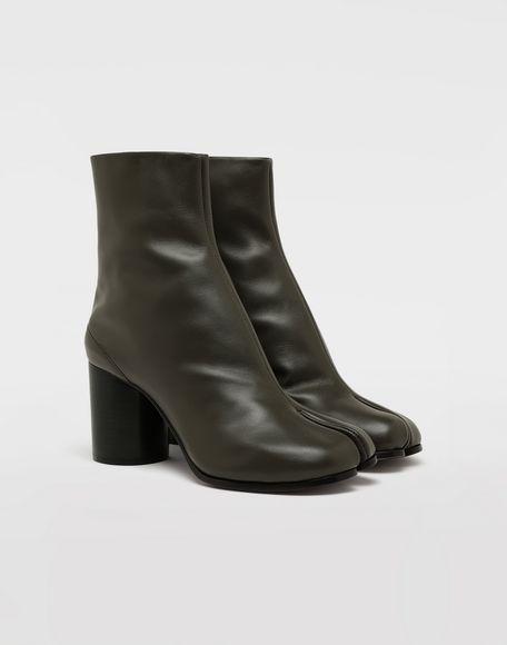 MAISON MARGIELA Bottes «Tabi» en cuir de veau Bottines Femme r