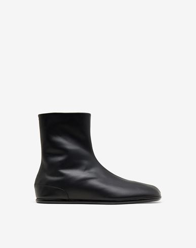 SHOES Tabi flat ankle boots Black