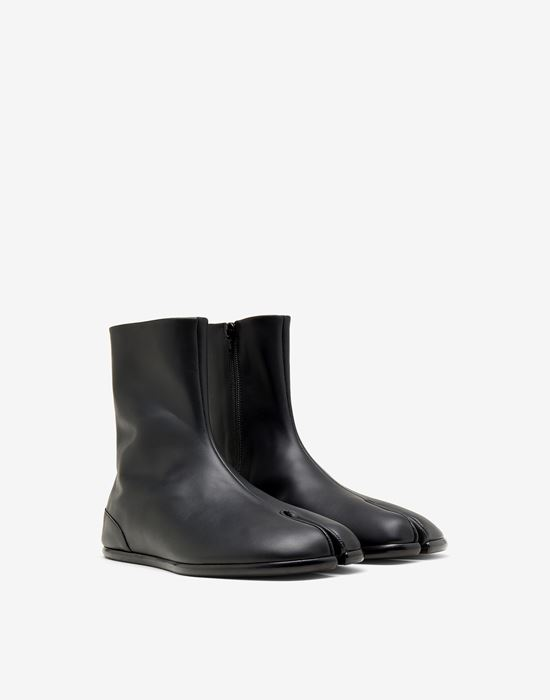 MAISON MARGIELA Tabi flat ankle boots Ankle boots [*** pickupInStoreShippingNotGuaranteed_info ***] r