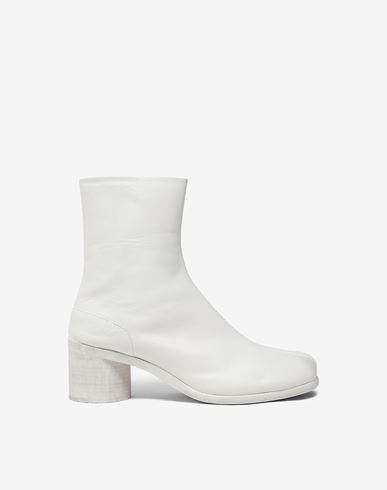 MAISON MARGIELA ショートブーツ [*** pickupInStoreShippingNotGuaranteed_info ***] カーフスキン タビ ブーツ f