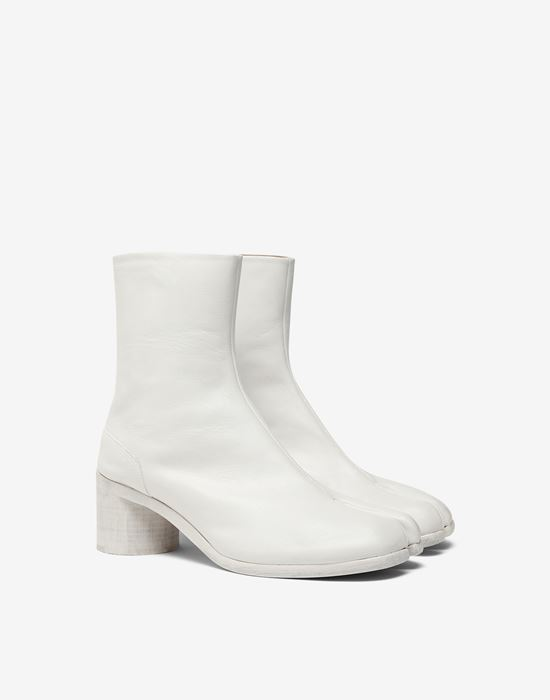 MAISON MARGIELA Painted calfskin Tabi boots Ankle boots [*** pickupInStoreShippingNotGuaranteed_info ***] r