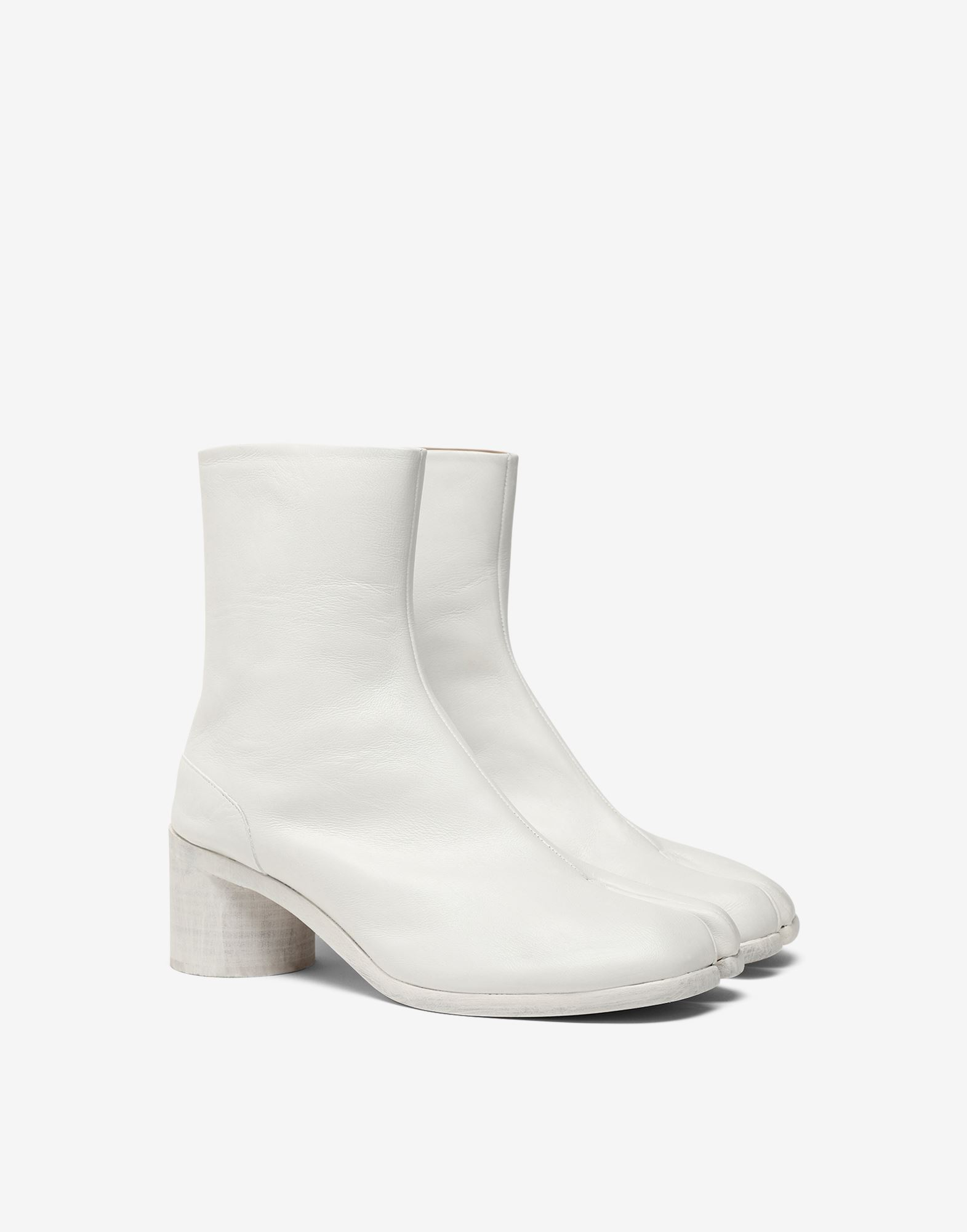 MAISON MARGIELA Painted calfskin Tabi boots Ankle boots Man r