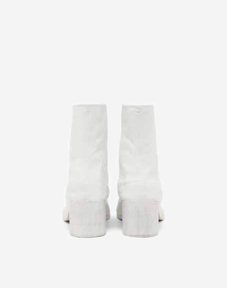 MAISON MARGIELA Painted calfskin Tabi boots Ankle boots Man d