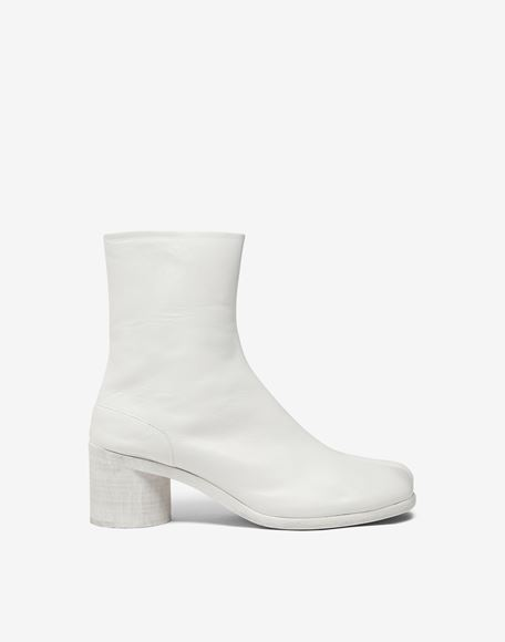 MAISON MARGIELA Painted calfskin Tabi boots Ankle boots Man f