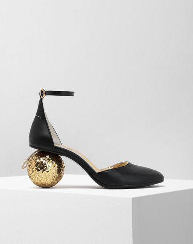 MM6 MAISON MARGIELA Christmas ball-heeled sandals Sandals [*** pickupInStoreShipping_info ***] f