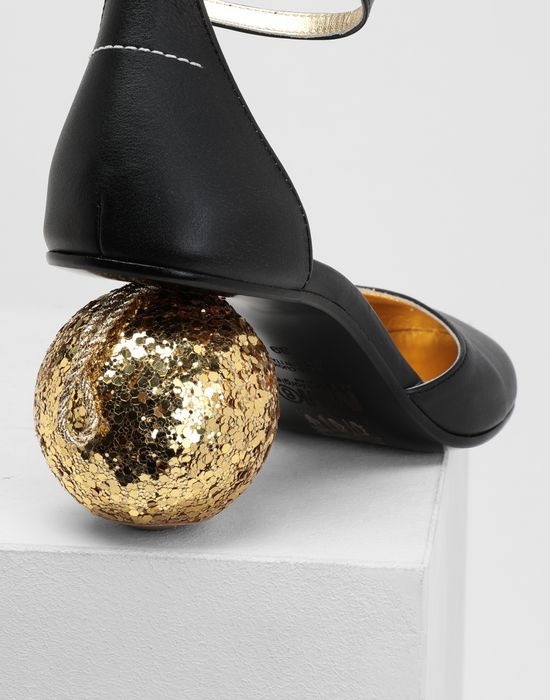 MM6 MAISON MARGIELA Christmas ball-heeled sandals Sandals [*** pickupInStoreShipping_info ***] e