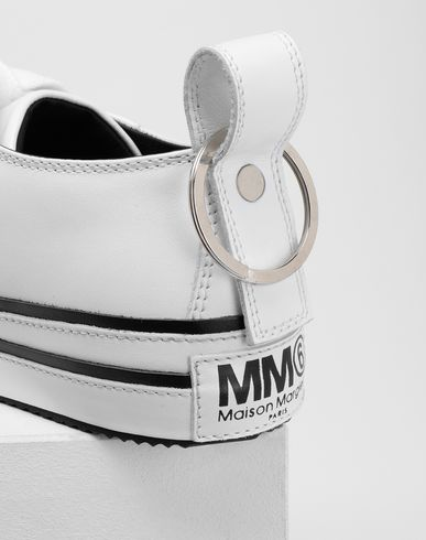 SHOES Keyring leather sneakers