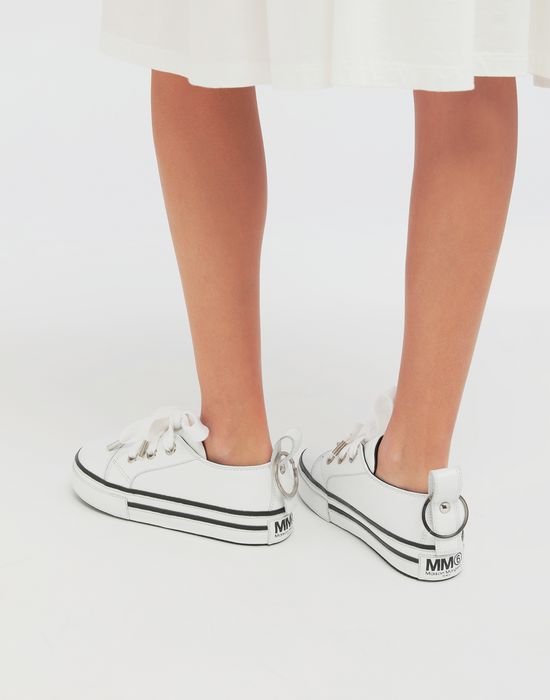 MM6 MAISON MARGIELA Keyring leather sneakers Sneakers [*** pickupInStoreShipping_info ***] b