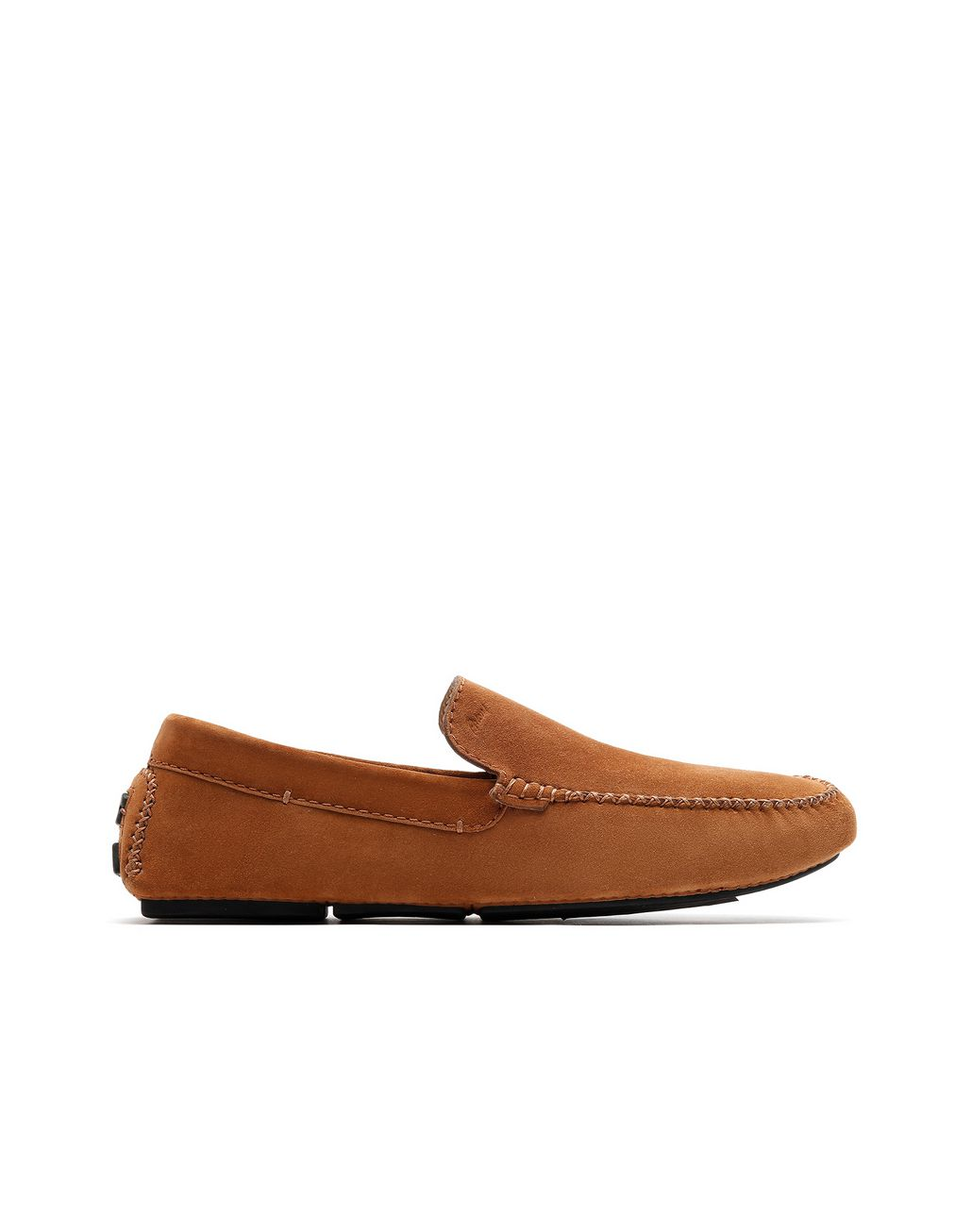BRIONI Brown Suede Driver Shoes Loafers [*** pickupInStoreShippingNotGuaranteed_info ***] f