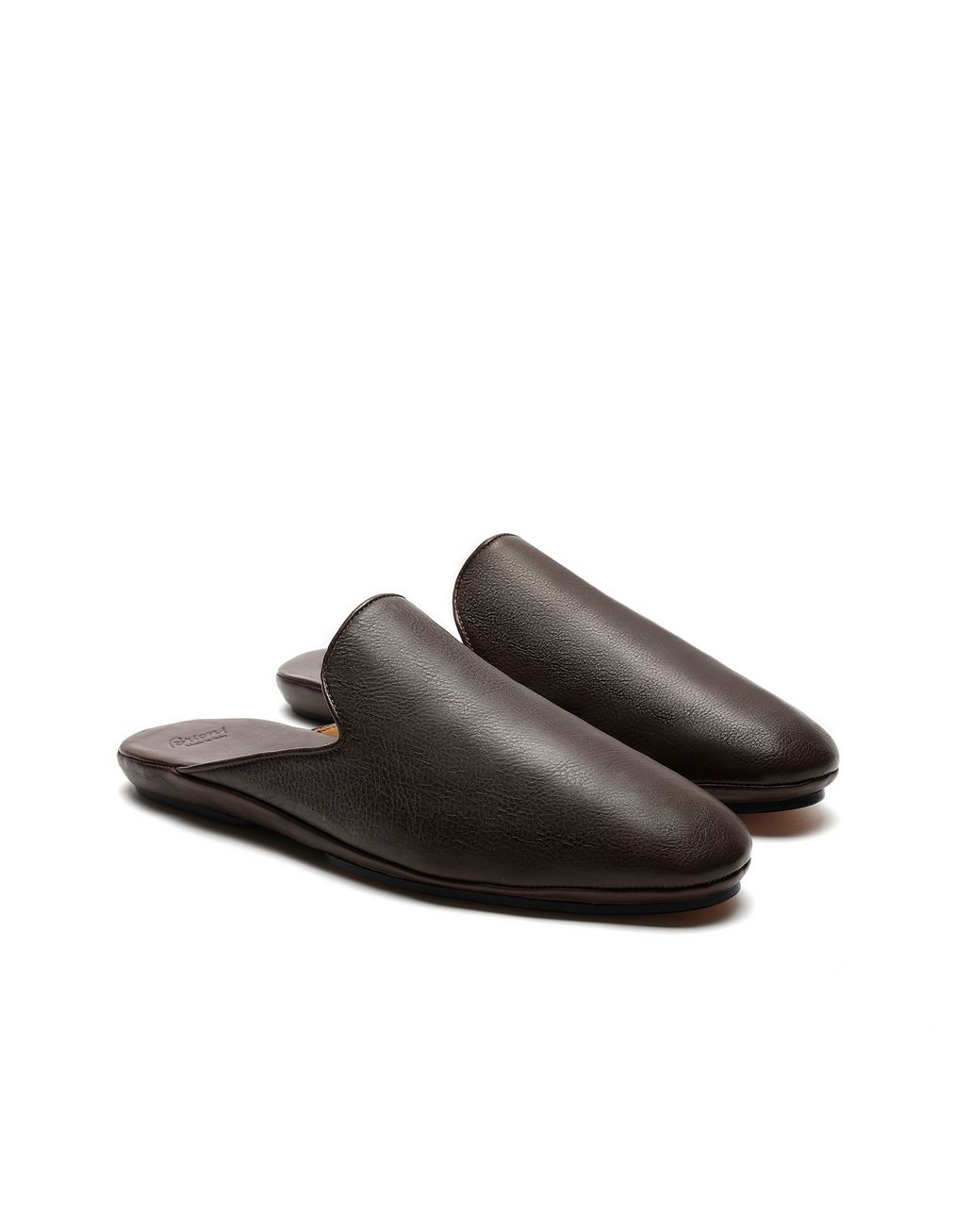 BRIONI Brown Slippers Slippers [*** pickupInStoreShippingNotGuaranteed_info ***] d