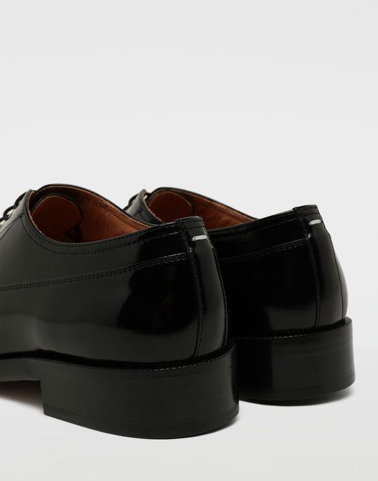 MAISON MARGIELA Brushed leather lace-ups Laced shoes [*** pickupInStoreShippingNotGuaranteed_info ***] a