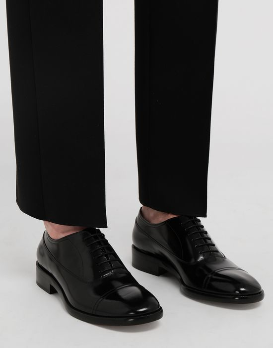 MAISON MARGIELA Brushed leather lace-ups Laced shoes [*** pickupInStoreShippingNotGuaranteed_info ***] b