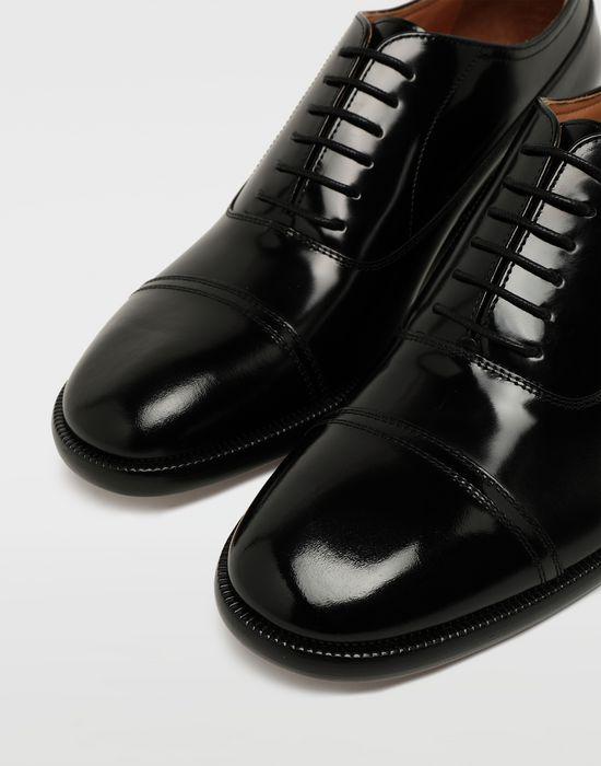 MAISON MARGIELA Brushed leather lace-ups Laced shoes [*** pickupInStoreShippingNotGuaranteed_info ***] e