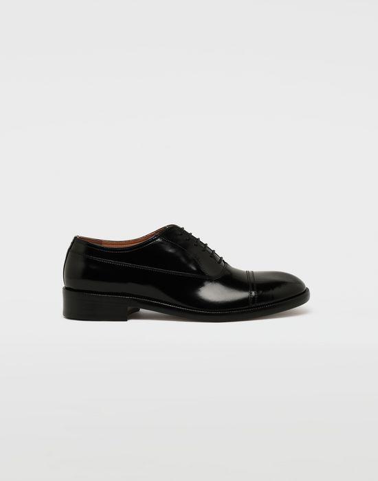 MAISON MARGIELA Brushed leather lace-ups Laced shoes [*** pickupInStoreShippingNotGuaranteed_info ***] f