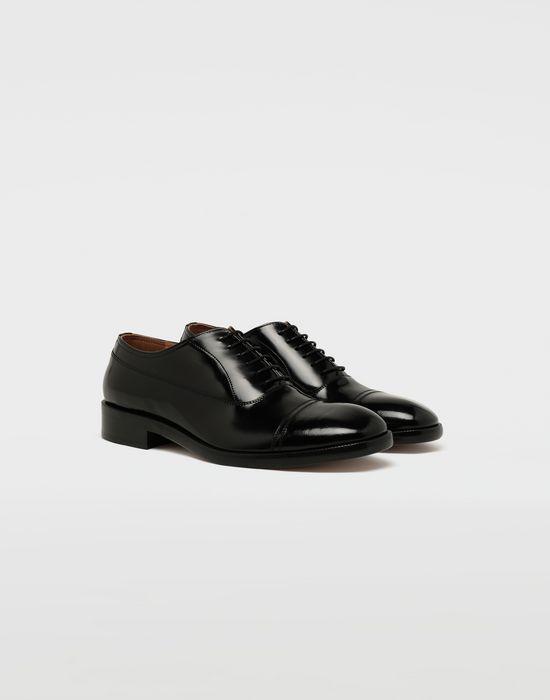 MAISON MARGIELA Brushed leather lace-ups Laced shoes [*** pickupInStoreShippingNotGuaranteed_info ***] r