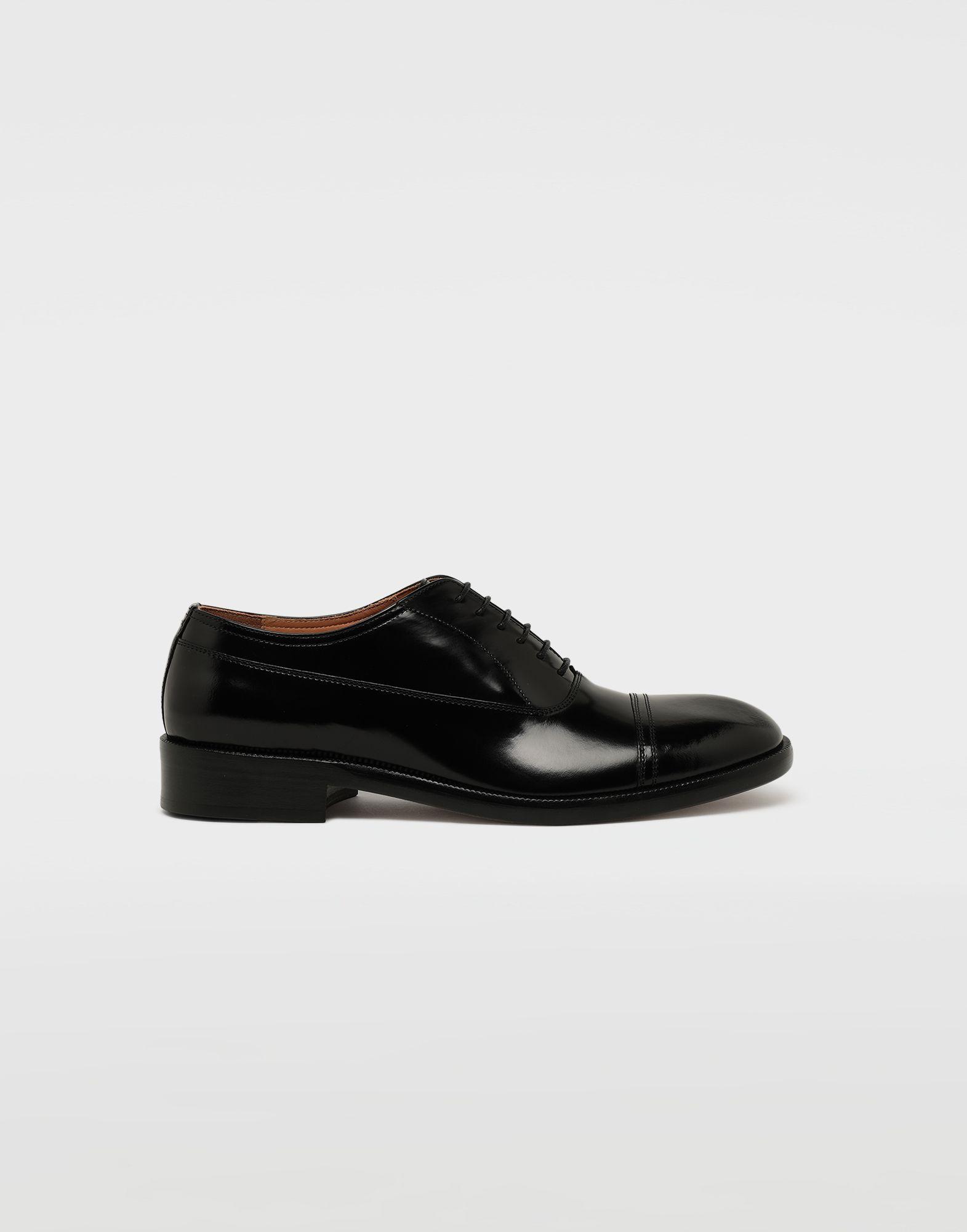 MAISON MARGIELA Brushed leather lace-ups Laced shoes Man f