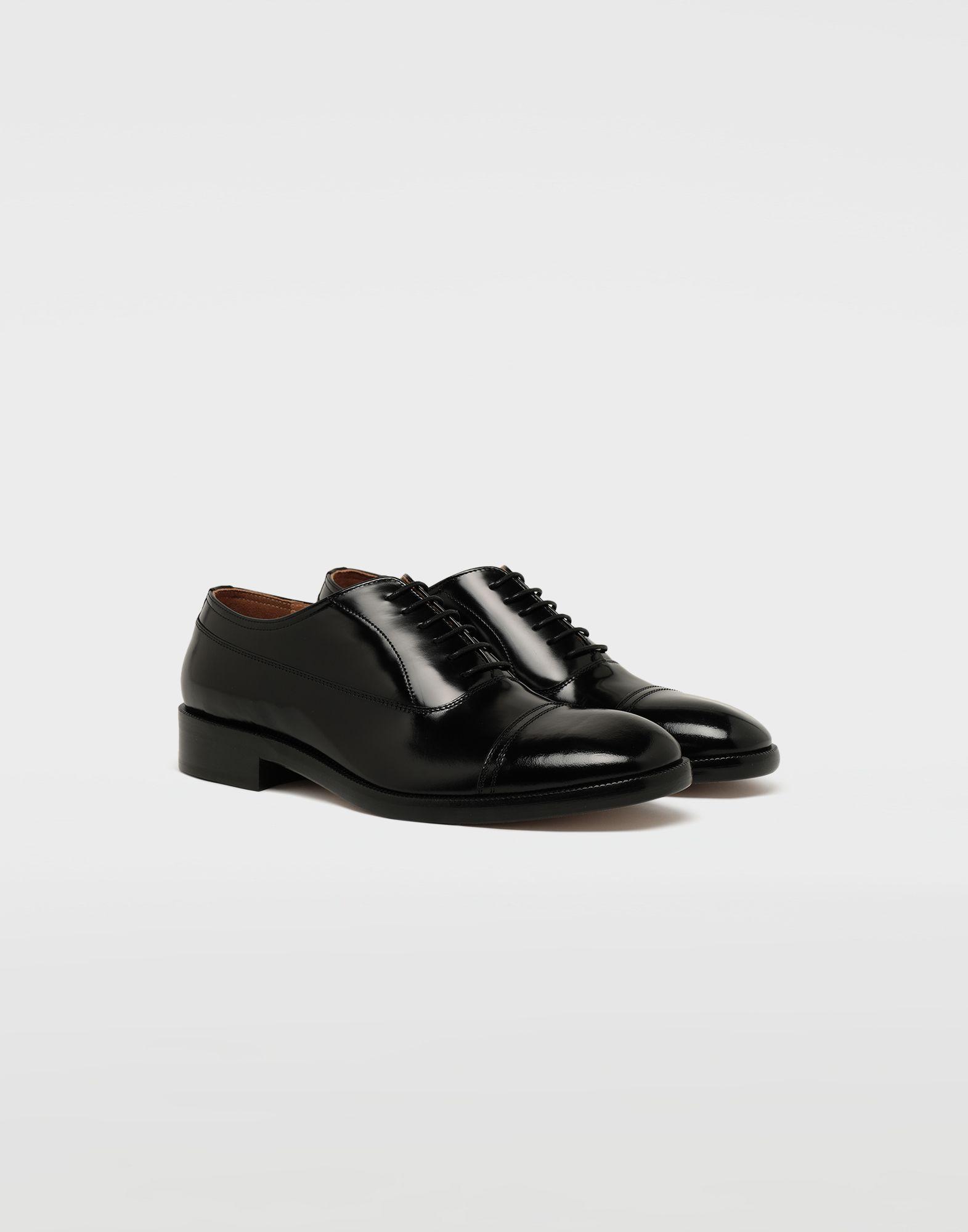 MAISON MARGIELA Brushed leather lace-ups Laced shoes Man r